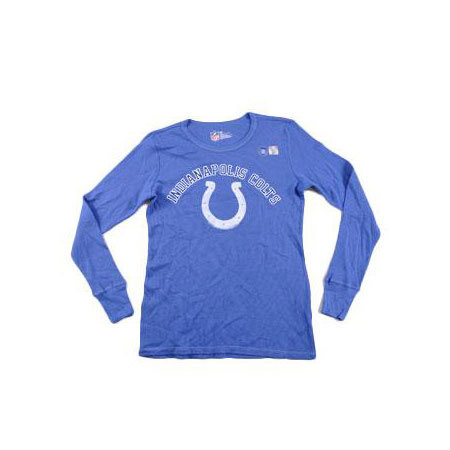 Steal Deal - Ladies Indianapolis Colts Long Sleeve Tee